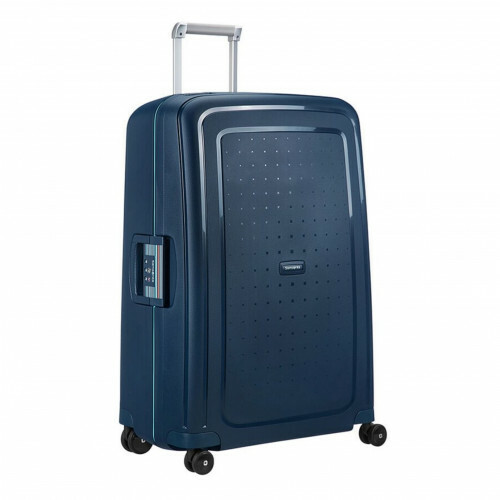 Samsonite S'CURE SPINNER 75, 10U-002 in de kleur 52 navy blue-capri blue 5414847855030