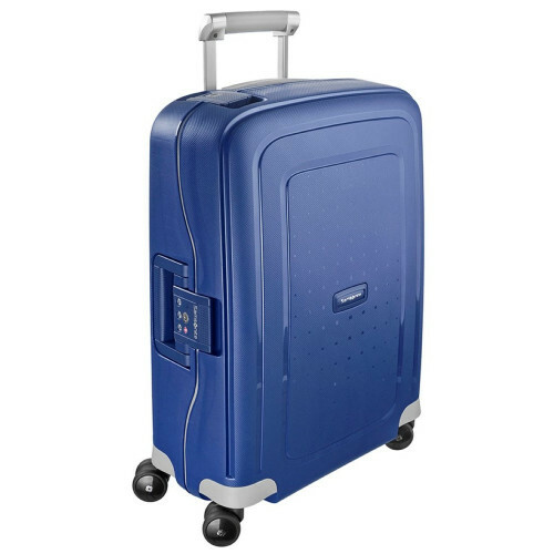 Samsonite S'CURE SPINNER 55, 10U-003 in de kleur 01 dark blue 5414847329944