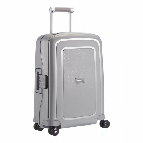 Samsonite S'CURE SPINNER 55, 10U-003 in de kleur 25 silver 5414847329920