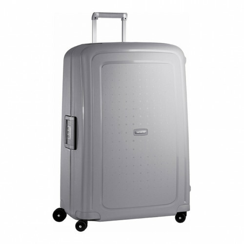 Samsonite S'CURE SPINNER 81, 10U-004 in de kleur 25 silver 5414847590245