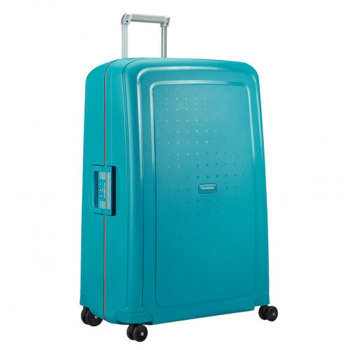 Samsonite S'CURE SPINNER 81, 10U-004 in de kleur 62 carib.blue-vibr.orange 5414847855160