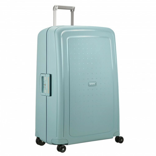 Samsonite S'CURE SPINNER 81, 10U-004 in de kleur 72 stone blue-navy blue 5414847855177