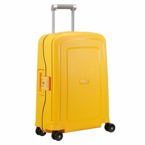 Samsonite S'CURE SPINNER 55, 10U-003 in de kleur 36 sunset yellow-navy blue 5414847855146