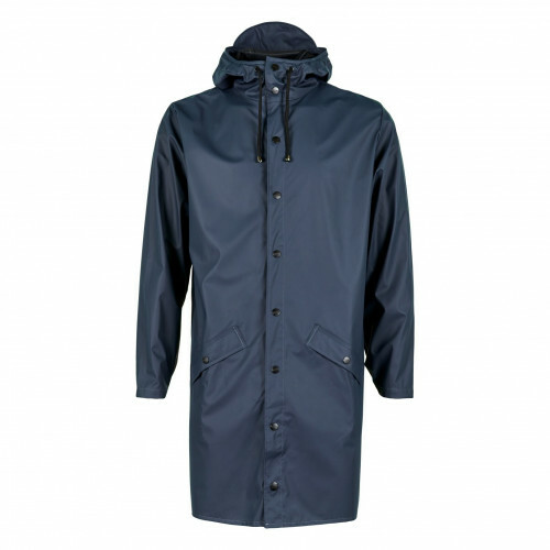 Rains RAIN COATS LONG JACKET, 1202 in de kleur 02 blue 5711747102043