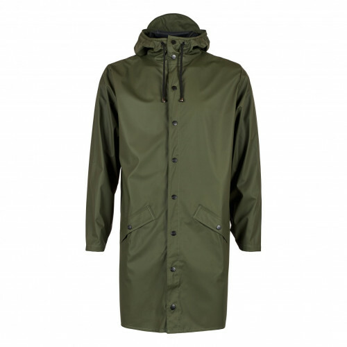Rains RAIN COATS LONG JACKET, 1202 in de kleur 03 green 5711747102081