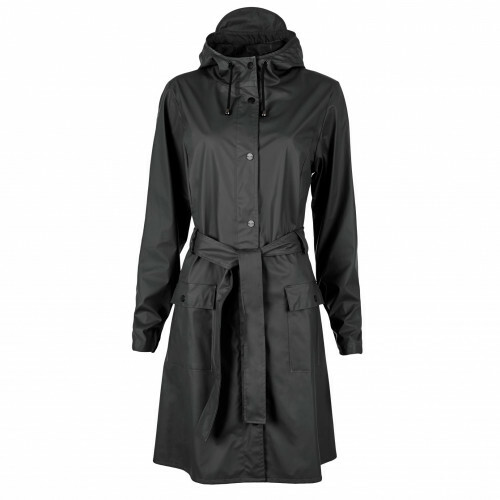 Rains RAIN COATS CURVE JACKET, 1206 in de kleur 01 black 5711747104009
