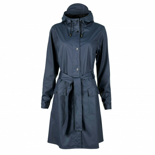 Rains RAIN COATS CURVE JACKET, 1206 in de kleur 02 blue 5711747104061