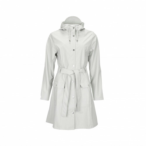 Rains RAIN COATS CURVE JACKET, 1206 in de kleur 22 moon 5711747407032