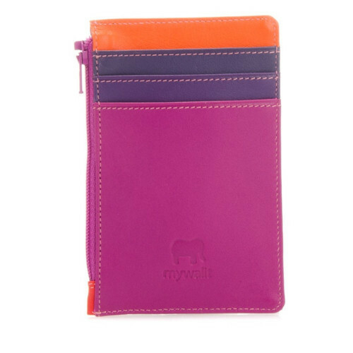 Mywalit SOFT CC HOLDER+COIN PURSE, 1206 in de kleur 75 sangria multi 5051655069503