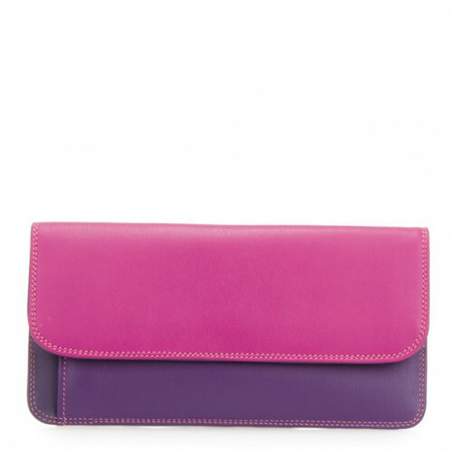 Mywalit SOFT SIMPLE FLAPOVER PURSE, 1232 in de kleur 75 sangria multi 5051655088108