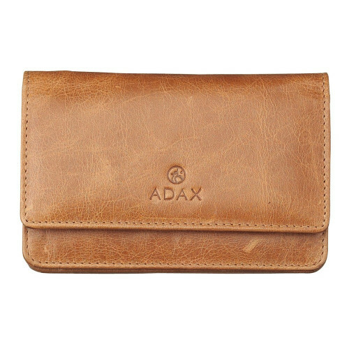 Adax SALERNO FLAT PURSE, 130669 in de kleur camel