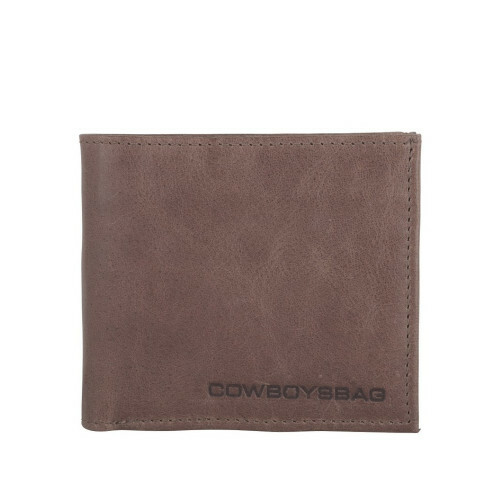 Cowboysbag PRACTICAL MINDS WALLET CORNET, 1493 in de kleur 135 elephant grey 8718586518322