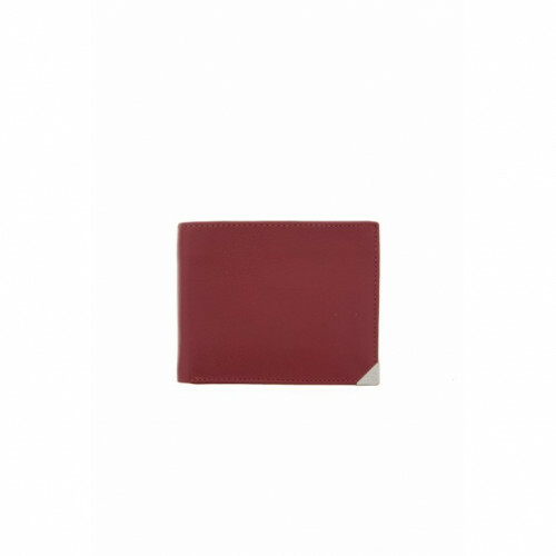 H.J. de Rooy TORONTO BILLFOLD HERENBEURS, 15559 in de kleur red 8712099027555