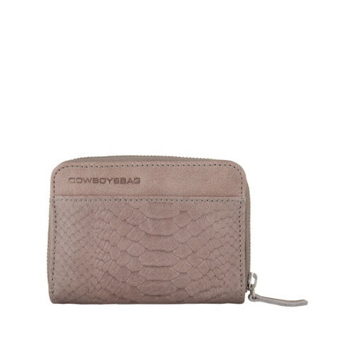 Cowboysbag CLASSICSSSSS PURSE PASSOS, 1558 in de kleur 135 elephant grey 8718586526594