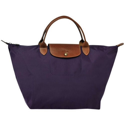 Longchamp LE PLIAGE HANDBAG M, L1623089 in de kleur 645 bilberry 3597920776469