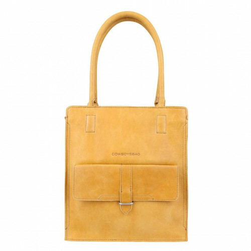 Cowboysbag CLEAN LINES BAG STANTON, 2055 in de kleur 465 amber 8718586583795