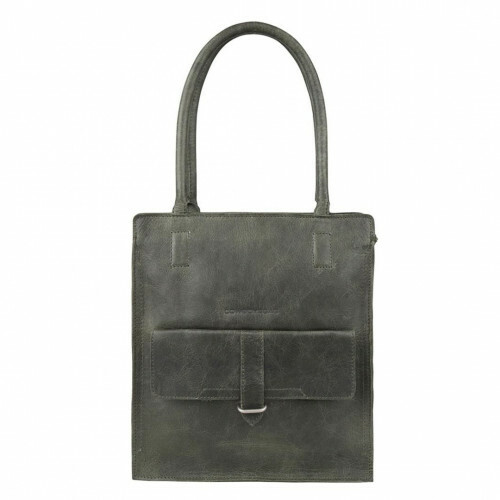Cowboysbag CLEAN LINES BAG STANTON, 2055 in de kleur 945 dark green 8718586583818