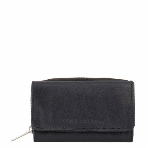 Cowboysbag CLEAN LINES PURSE WARKLEY, 2059 in de kleur 100 black 8718586584099