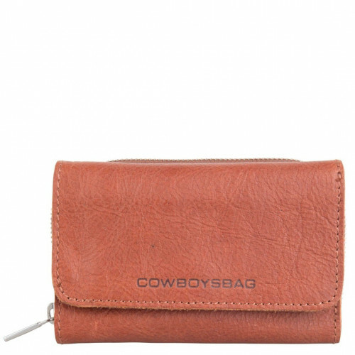 Cowboysbag CLEAN LINES PURSE WARKLEY, 2059 in de kleur 300 cognac 8718586590830