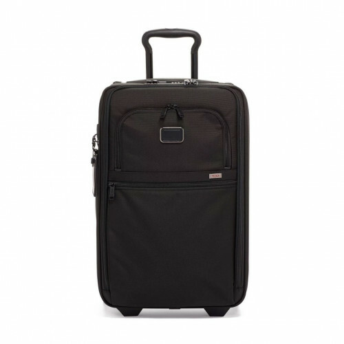 Tumi ALPHA 3 INTL EXP 2 WHEEL CARRY-ON, 2203020 in de kleur black 742315471440