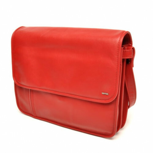 Berba SOFT HALF FLAPBAG, 025-571 in de kleur 16 red 8718924020869