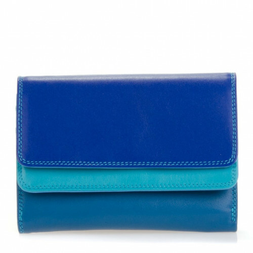 Mywalit SOFT DOUBLE FLAP PURSE, 250 in de kleur 92 seascape 5051655037410