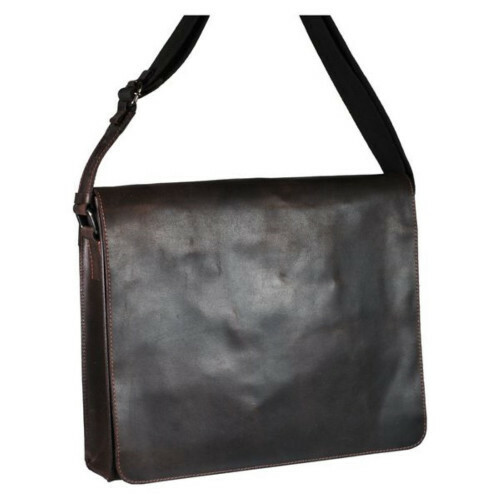 Leonhard Heyden DAKOTA SHOULDERBAG L, 2823 in de kleur 003 brown 4025307262667