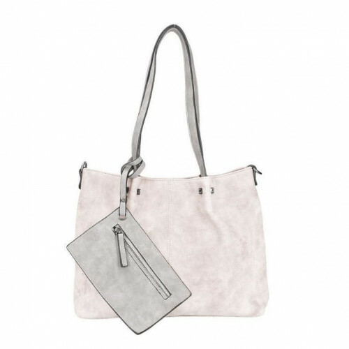 Meier Lederwaren BAG IN BAG M, 299 in de kleur 818 grey 4049391093631