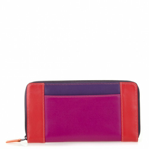 Mywalit SOFT ZIP ROUND PURSE, 329 in de kleur 75 sangria multi 5051655024830