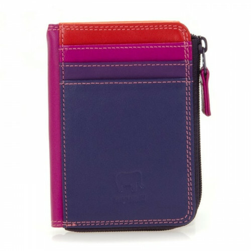 Mywalit SOFT ZIP PURSE ID, 334 in de kleur 75 sangria multi 5051655025264