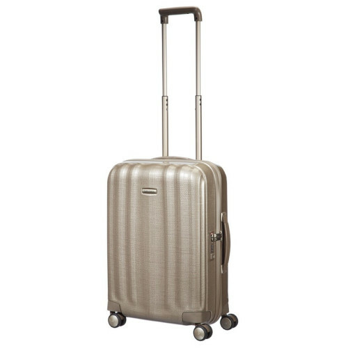 Samsonite LITE-CUBE SPINNER 55, 33V-004 in de kleur 05 ivory gold 5414847449130