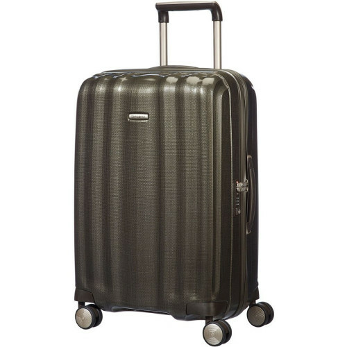 Samsonite LITE-CUBE SPINNER 68, 33V-005 in de kleur 14 dark olive 5414847449192