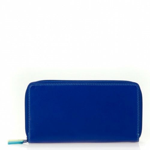 Mywalit SOFT LARGE DOUBLE ZIP WALLET, 375 in de kleur 92 seascape 5051655045552