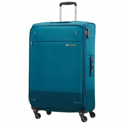 Samsonite BASE BOOST SPINNER 78 EXP, 38N-005 in de kleur 61 petrol blue stripes 5414847963285