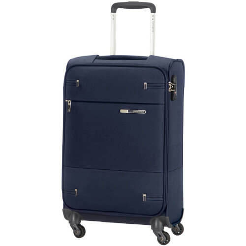 Samsonite BASE BOOST SPINNER 55 LENGHT 35 CM, 38N-006 in de kleur 41 navy blue 5414847775062