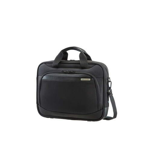 "Samsonite VECTURA SLIM BAILHANDLE 13"", 39V-004 in de kleur 09 black 5414847459993"