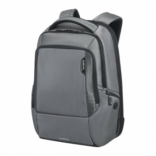 "Samsonite CITYSCAPE TECH LP BACKPACK 16"", 41D-103 in de kleur 18 steel grey 5414847658228"