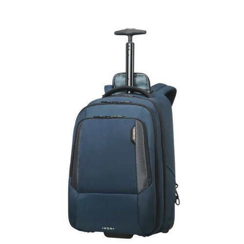 "Samsonite CITYSCAPE TECH LP BACKPACK WHEELS 17"", 41D-105 in de kleur 01 space blue 5414847850202"