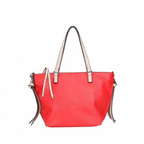 Meier Lederwaren CITYSHOPPER, 430 in de kleur 603 red-birke 4049391197261