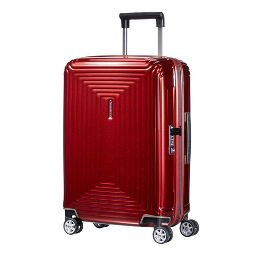 Samsonite NEOPULSE SPINNER 55, 44D-001 in de kleur 00 metallic red 5414847594090