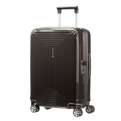 Samsonite NEOPULSE SPINNER 55, 44D-001 in de kleur 09 metal.black 5414847565656