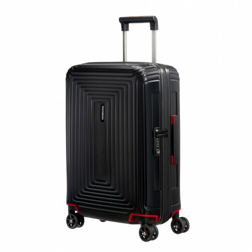 Samsonite NEOPULSE SPINNER 55, 44D-001 in de kleur 19 matte black 5414847686665
