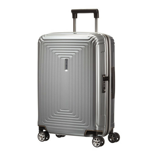 Samsonite NEOPULSE SPINNER 55, 44D-001 in de kleur 25 metallic silver 5414847565649