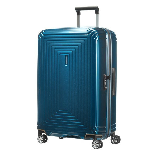 Samsonite NEOPULSE SPINNER 69, 44D-002 in de kleur 01 metallic blue 5414847565670