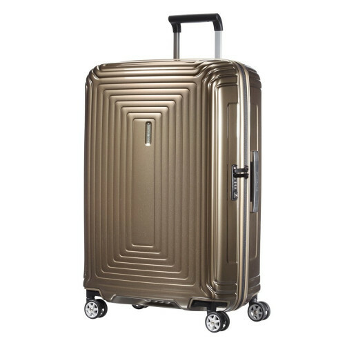 Samsonite NEOPULSE SPINNER 69, 44D-002 in de kleur 05 metal.sand 5414847565700
