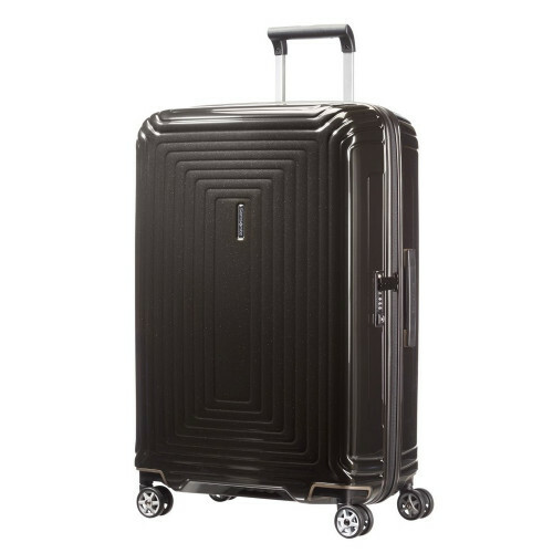 Samsonite NEOPULSE SPINNER 69, 44D-002 in de kleur 09 metal.black 5414847565694