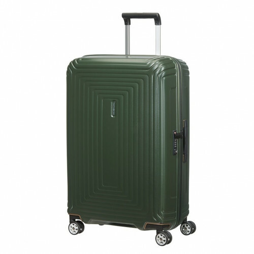 Samsonite NEOPULSE SPINNER 69, 44D-002 in de kleur 24 matte dark olive 5400520022639