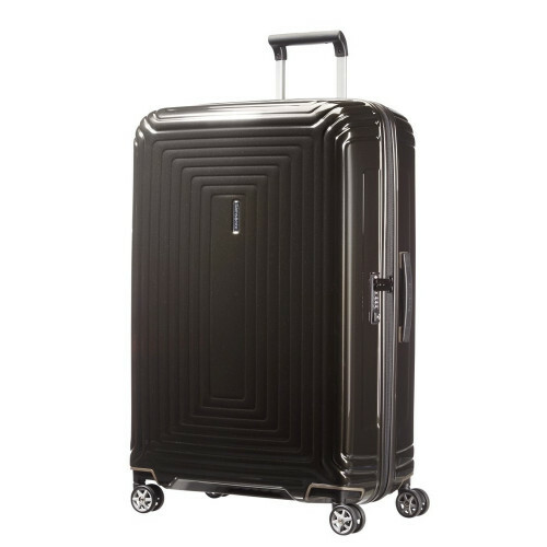 Samsonite NEOPULSE SPINNER 75, 44D-003 in de kleur 09 metal.black 5414847565731
