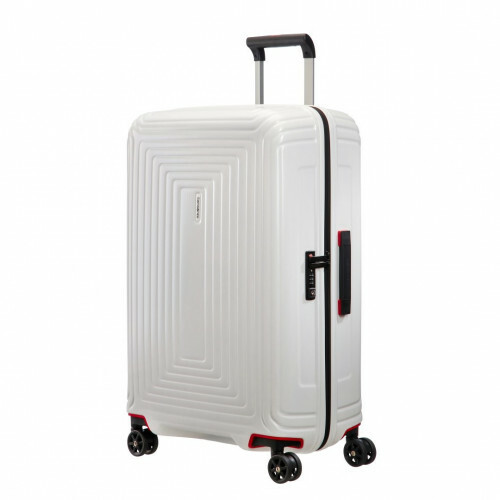 Samsonite NEOPULSE SPINNER 75, 44D-003 in de kleur 15 matte white 5414847686719