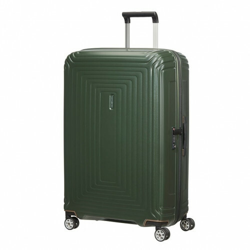 Samsonite NEOPULSE SPINNER 75, 44D-003 in de kleur 24 matte dark olive 5400520022653